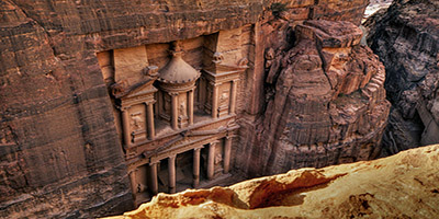 Tours to Petra: The Treasury